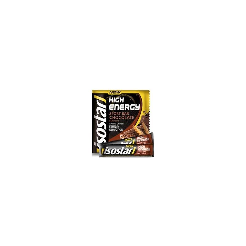 Isostar High Energy energiabatoon šokolaad 3-pakk