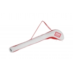 Stick cover ALMIGHTY white/red